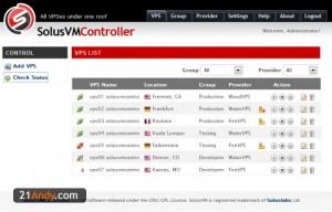 批量管理VPS的工具SolusVMController