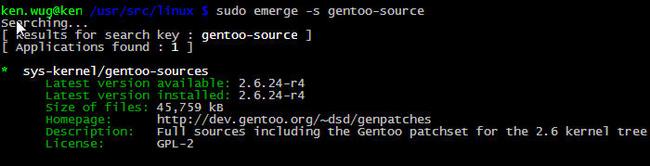 虚拟机下编译gentoo内核