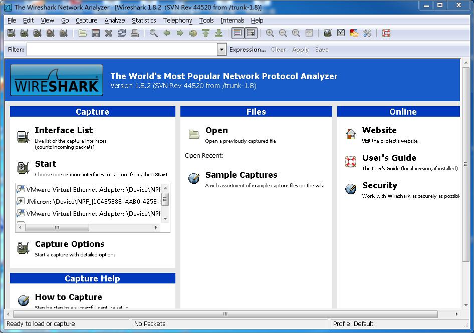Wireshark基本介绍和学习TCP三次握手