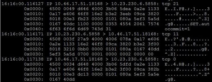 tcpdump分析MySQL事务的时延水平
