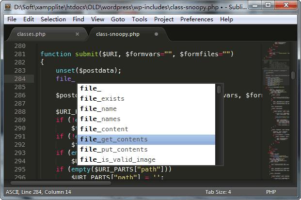 Sublime Text 3 破解版 + 注册机 + 汉化包+安装插件