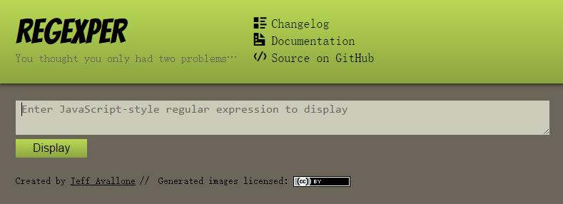 正则表达式 可视化工具Web版