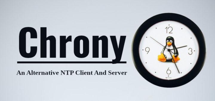 CentOS 8 Chronyd 时间同步服务